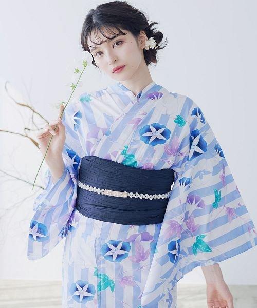 Dita(ディータ)/Dita【ディータ】1人で簡単に着られる作り帯の可愛い女性浴衣 4点フルセット(ゆかた・作り帯・下駄・着付けカタログ)/dl-2017yukata5_img56