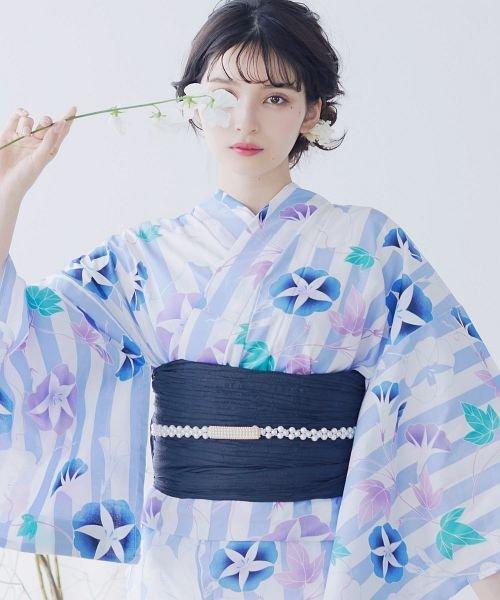 Dita(ディータ)/Dita【ディータ】1人で簡単に着られる作り帯の可愛い女性浴衣 4点フルセット(ゆかた・作り帯・下駄・着付けカタログ)/dl-2017yukata5_img58