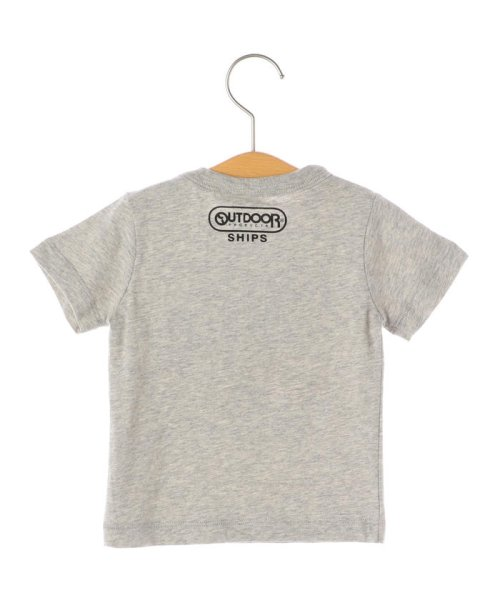 SHIPS KIDS(シップスキッズ)/OUTDOOR PRODUCTS×SHIPS KIDS:プリント TEE(80~90cm)/512312241_img01