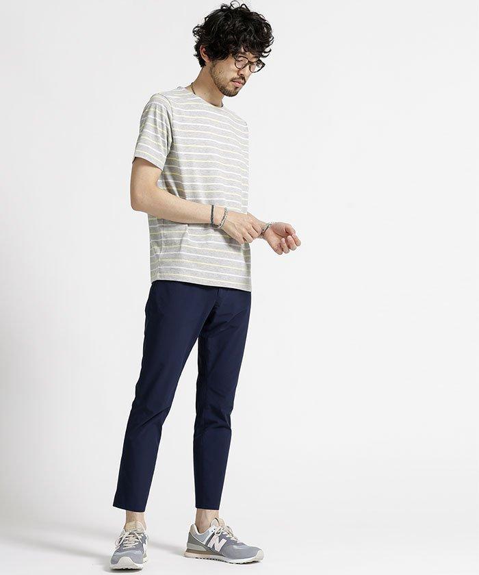 7月 服装 メンズ ボーダーTシャツ、ボーダーカットソー 画像