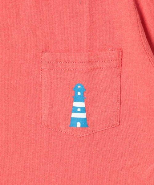 LAGOM(ラーゴム)/マリンプリントポケットTシャツ/1206388221411_img05
