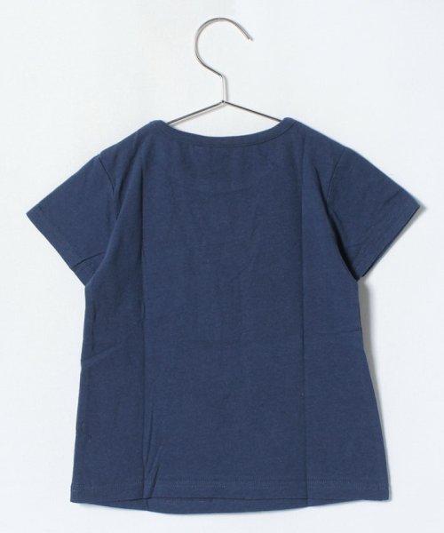 LAGOM(ラーゴム)/マリンプリントポケットTシャツ/1206388221411_img01