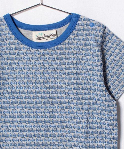 Love&Peace&Money(ラブアンドピースアンドマネー)/RETRO CARS総柄Tシャツ/1482207_img02