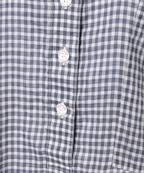 OLD ENGLAND(オールド イングランド)/WEB限定【OEPP】ギンガムチェックスリーブシャツ/58406081_img05