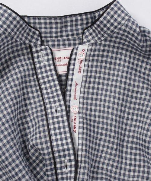 OLD ENGLAND(オールド イングランド)/WEB限定【OEPP】ギンガムチェックシャツ/58406091_img04