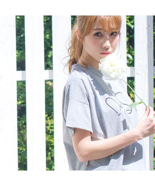 Dita(ディータ)/【上下セット】Dita(ディータ)ゆるテロ♪Tシャツ&ボーダーパンツ/dl-80843_img06