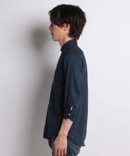 nano・universe(ナノ・ユニバース)/ストレッチリネン7/Sシャツ/6688120031_img08
