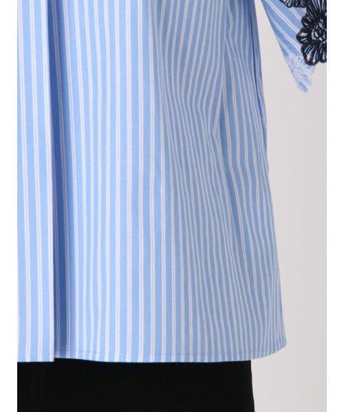 MERCURYDUO(マーキュリーデュオ)/ストライプ刺繍ブラウス/001830401201_img07