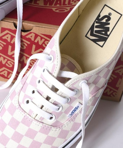 SHIPS MEN(シップス メン)/VANS: 【CHECKERBORD】 AUTHENTIC/115400004_img01