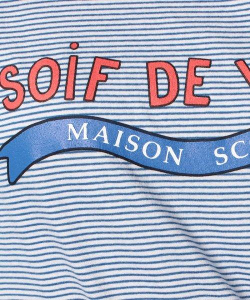 en recre(アン レクレ)/【SCOTCH & SODA】ボーダーロゴプリントTシャツ/6800124_img05