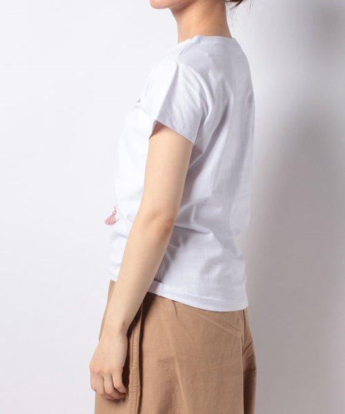 en recre(アン レクレ)/【Brahmin】ドッグプリントTシャツ/6801598_img01