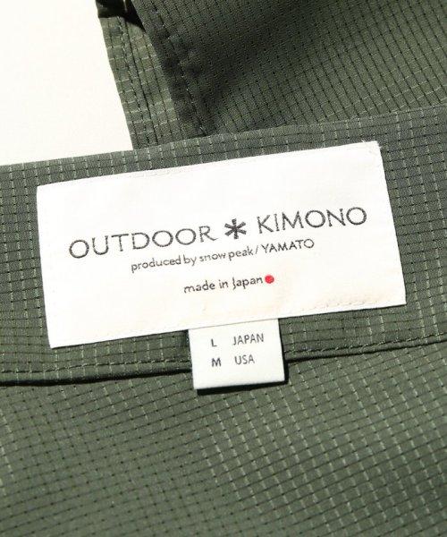 JOURNAL STANDARD relume Men's(ジャーナルスタンダード レリューム メンズ)/SNOWPEAK / スノーピーク : outdoor Yukata/18020465000710_img09