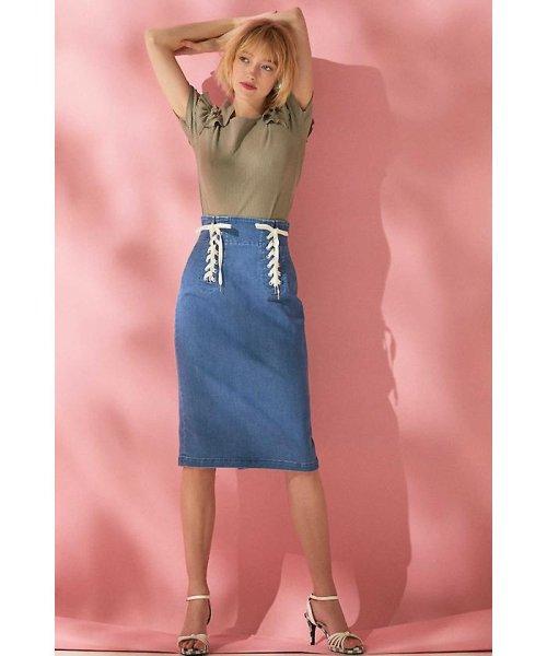 PROPORTION BODY DRESSING(プロポーション ボディドレッシング)/《EDIT COLOGNE》ビジューラッフルテレコカットソー/1218167501_img13