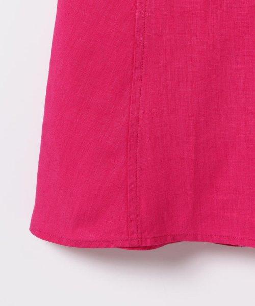 Demi-Luxe BEAMS(デミルクスビームス)/【洗える】Demi-Luxe BEAMS / リネン フィット&フレアスカート/68270386002_img08