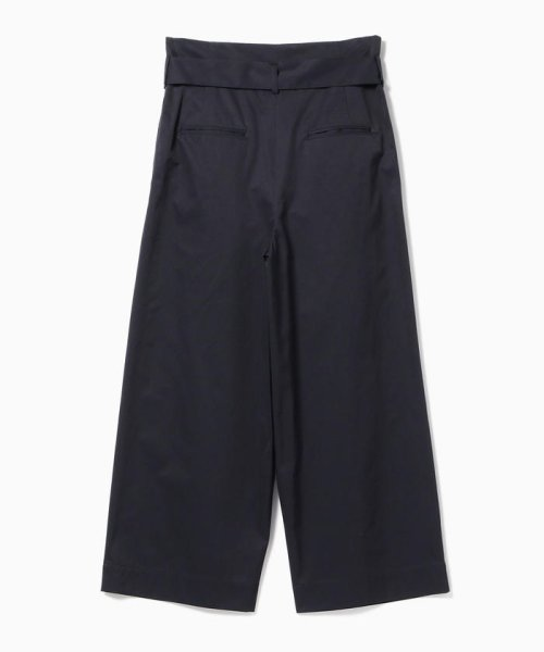 BEAMS OUTLET(ビームス アウトレット)/【洗える】Demi-Luxe BEAMS / ウエストリボン ワイドストレートパンツ/68230258594_img07