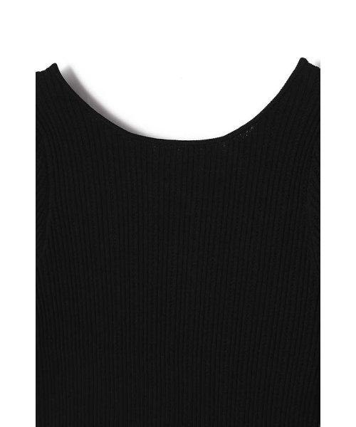 PROPORTION BODY DRESSING(プロポーション ボディドレッシング)/《EDIT COLOGNE》バックフリルニット/1218175501_img02