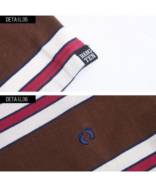 HANG TEN(ハンテン)/HANG TEN【ハンテン】ボーダー柄クルーネック半袖Tシャツ/H3856_img07