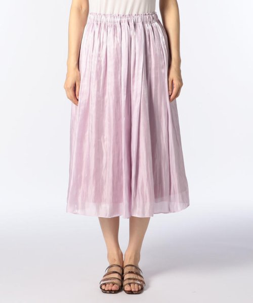 NOLLEY'S sophi(ノーリーズソフィー)/シャイニーギャザースカート/8-0030-3-06-004_img01