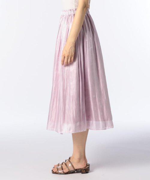 NOLLEY'S sophi(ノーリーズソフィー)/シャイニーギャザースカート/8-0030-3-06-004_img02