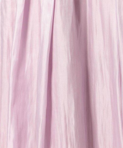 NOLLEY'S sophi(ノーリーズソフィー)/シャイニーギャザースカート/8-0030-3-06-004_img07