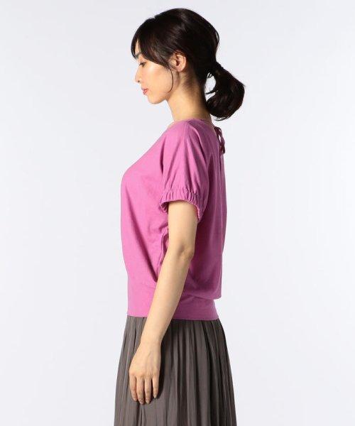 NOLLEY'S(ノーリーズ)/ドライコットンパフスリーブTシャツ/8-0040-3-03-001_img02
