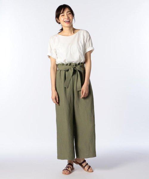 NOLLEY'S(ノーリーズ)/ドライコットンパフスリーブTシャツ/8-0040-3-03-001_img10