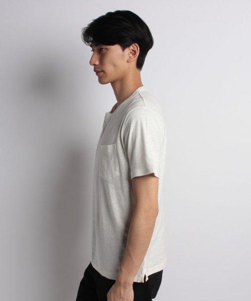 nano・universe(ナノ・ユニバース)/綿麻スラブクルーTシャツ/6688124502_img09