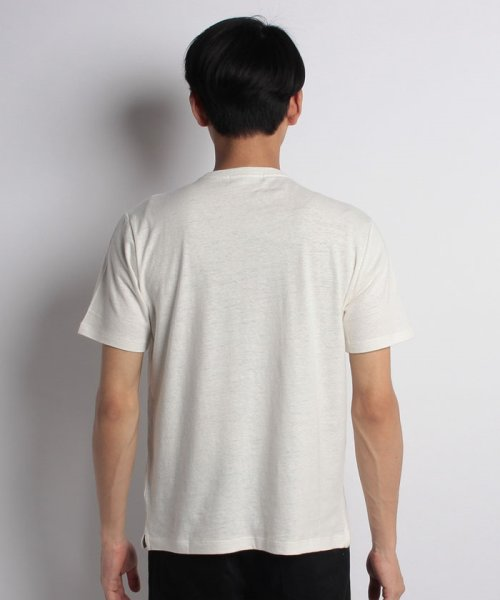 nano・universe(ナノ・ユニバース)/綿麻スラブクルーTシャツ/6688124502_img10
