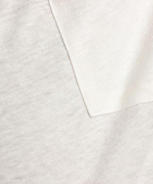 nano・universe(ナノ・ユニバース)/綿麻スラブクルーTシャツ/6688124502_img13