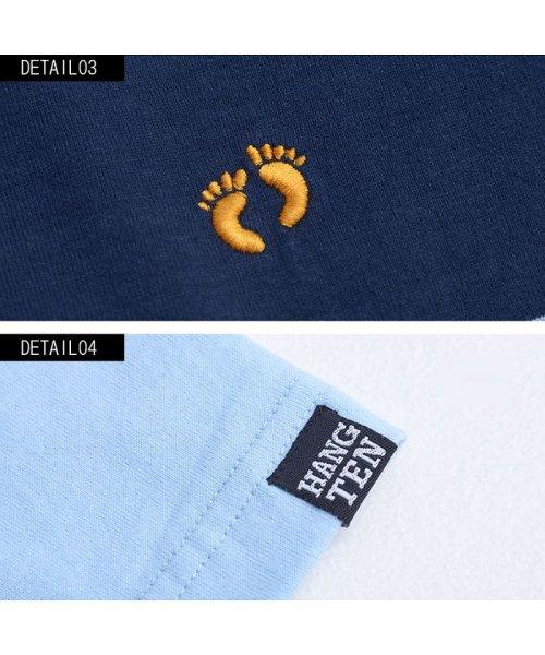 HANG TEN(ハンテン)/HANG TEN【ハンテン】ボーダー柄ポロシャツ/H3864_img08