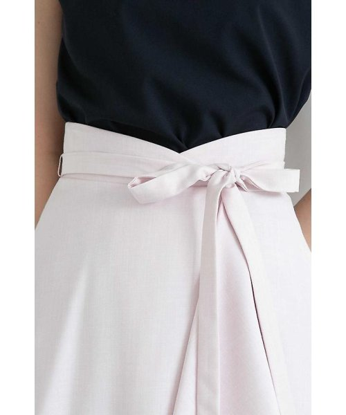 PROPORTION BODY DRESSING(プロポーション ボディドレッシング)/フレアーシャンブレースカート/1218120414_img11
