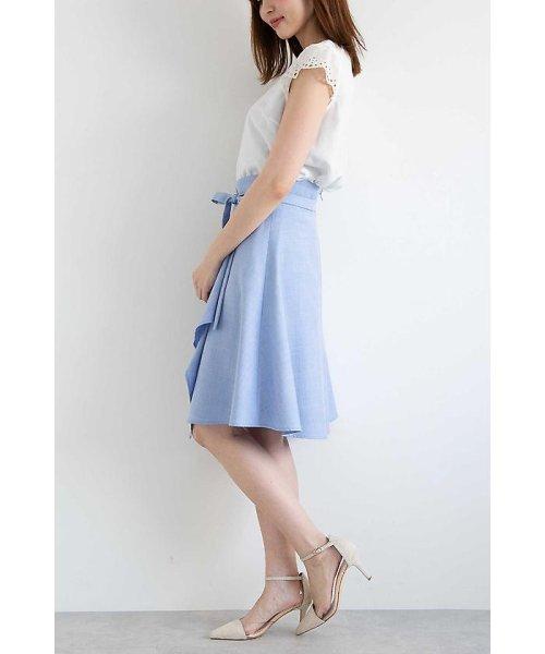 PROPORTION BODY DRESSING(プロポーション ボディドレッシング)/フレアーシャンブレースカート/1218120414_img15