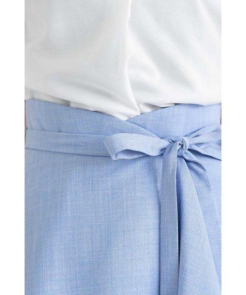PROPORTION BODY DRESSING(プロポーション ボディドレッシング)/フレアーシャンブレースカート/1218120414_img17