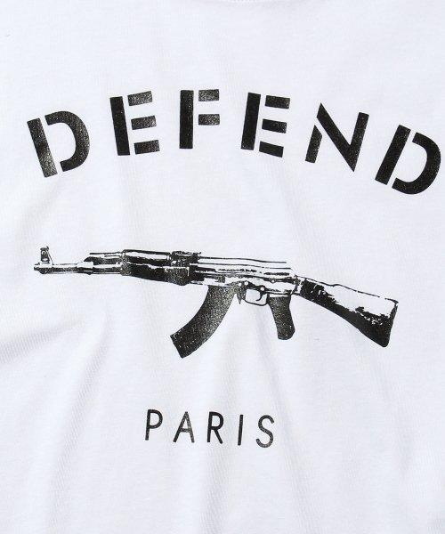defend paris ディフェンド パリス paris basic tシャツ 501020005