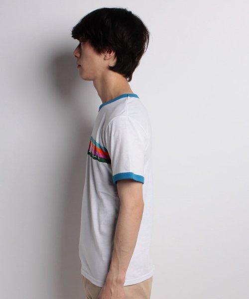 STYLEBLOCK(スタイルブロック)/レインボープリントリンガーTシャツ/sb275729_img01