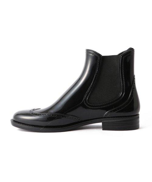 Demi-Luxe BEAMS(デミルクスビームス)/Traditional Weatherwear / ウイングチップ サイドゴア レインブーツ/64310037118_img05