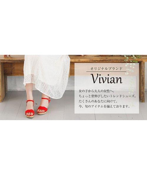 Vivian(ヴィヴィアン)/スカラップウェッジサンダル/V0436SMH_img01
