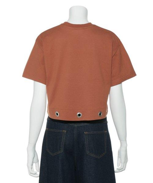 Mila Owen(ミラオーウェン)/アイレットヘム短丈ワイドTシャツ/09WCT182099_img03