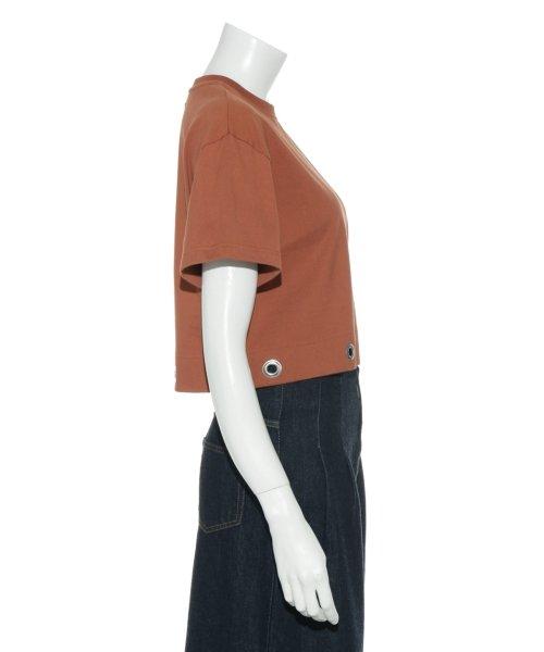 Mila Owen(ミラオーウェン)/アイレットヘム短丈ワイドTシャツ/09WCT182099_img04