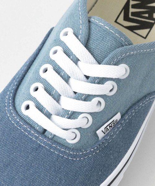 URBAN RESEARCH Sonny Label(アーバンリサーチサニーレーベル)/VANS Authentic(Denim2Tone)/VN0A38EMQ69-SM_img06