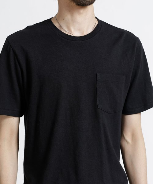 nano・universe(ナノ・ユニバース)/綿麻スラブクルーTシャツ/6688124502_img02
