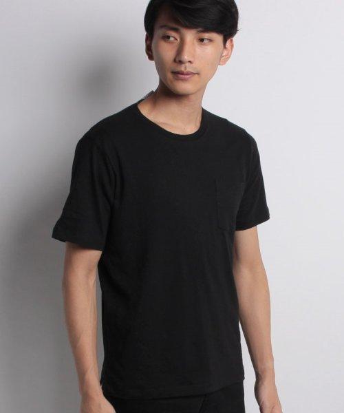 nano・universe(ナノ・ユニバース)/綿麻スラブクルーTシャツ/6688124502_img14