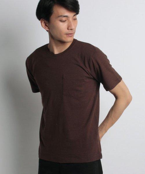 nano・universe(ナノ・ユニバース)/綿麻スラブクルーTシャツ/6688124502_img16