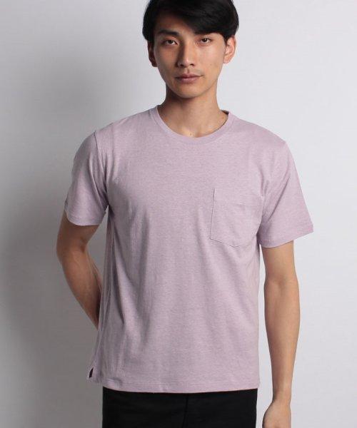 nano・universe(ナノ・ユニバース)/綿麻スラブクルーTシャツ/6688124502_img17