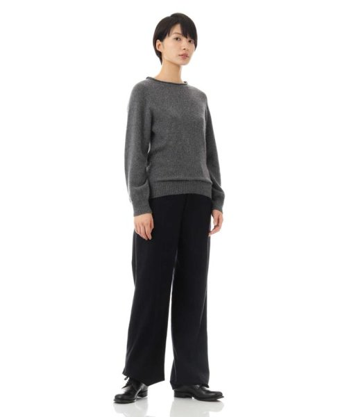MARGARET HOWELL(マーガレット・ハウエル)/LONG SLEEVE CAST OFF ROLL NECK/5788263002_img02