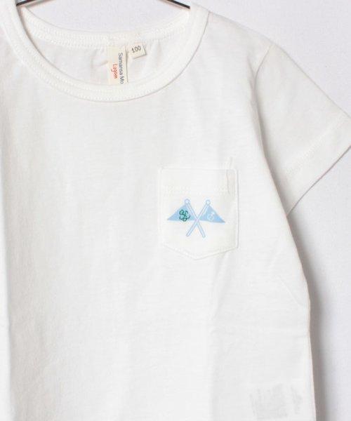 LAGOM(ラーゴム)/フラッグプリントポケットTシャツ(子供)/1206806231411_img02