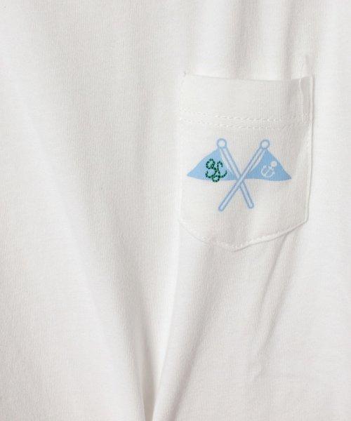 LAGOM(ラーゴム)/フラッグプリントポケットTシャツ(子供)/1206806231411_img03