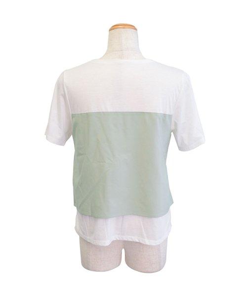 ANDJ(ANDJ(アンドジェイ))/ビスチェドッキングTシャツ/ts76x03918_img19
