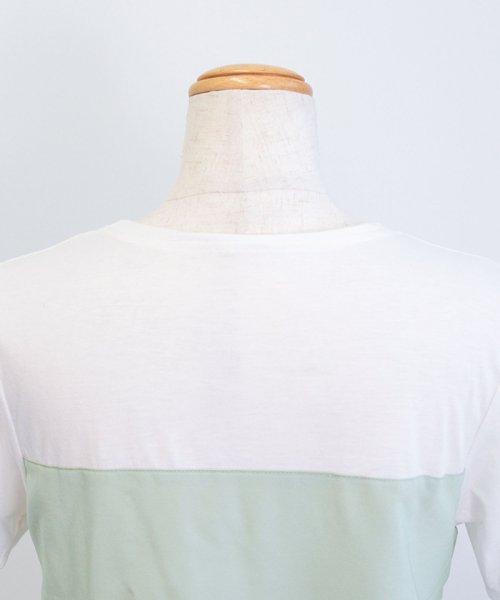 ANDJ(ANDJ(アンドジェイ))/ビスチェドッキングTシャツ/ts76x03918_img23