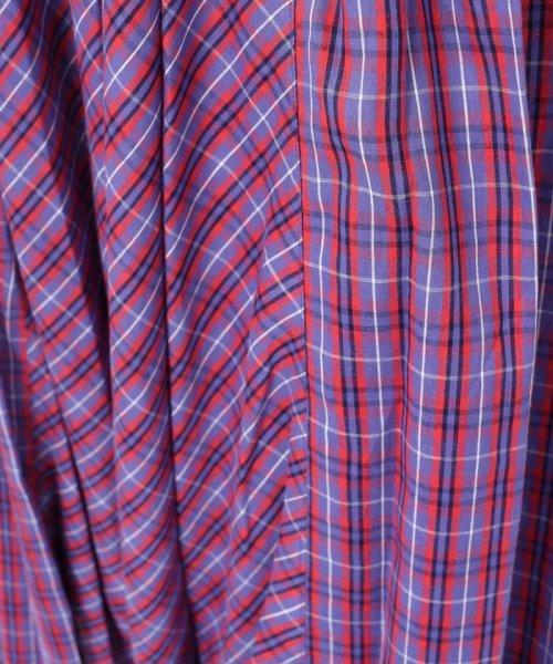 Khaju(カージュ)/Khaju:チェックボリュームロングスカート/323220078_img10